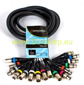 Kabel Accu Cable AC-SN8-MF/5 5m wieloparowy multicore