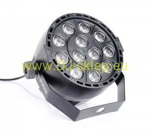 Reflektor LED PAR Ibiza PAR-MINI-UV 12x2W UV